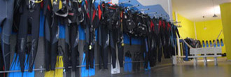 Our scuba diving equipment